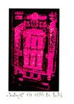 """""""Lucky 18"""" / Werkverzeichnis 2.261 / datiert 08.99 / Fotoveränderung von Spielautomaten als Tintenstrahldruck auf Papier / b 10,5 cm * h 15,0 cm"""