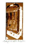 """""""Lucky 14"""" / Werkverzeichnis 2.257 / datiert 08.99 / Fotoveränderung von Spielautomaten als Tintenstrahldruck auf Papier / b 10,5 cm * h 15,0 cm"""