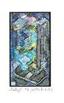 """""""Lucky 7"""" / Werkverzeichnis 2.250 / datiert 08.99 / Fotoveränderung von Spielautomaten als Tintenstrahldruck auf Papier / b 10,5 cm * h 15,0 cm"""