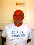 Abgabe meiner Protestnote im Gericht in Málaga.