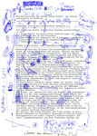 """""""Dumm die dumm"""" Espelkamp-Rathaus, den 28.09.1993, Werkverzeichnis 338, Filzstiftzeichnung und Text auf Sitzungsvorlage, b 21,0 cm * h 29,7 cm"""