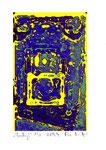 """""""Lucky 2"""" / Werkverzeichnis 2.245 / datiert 08.99 / Fotoveränderung von Spielautomaten als Tintenstrahldruck auf Papier / b 10,5 cm * h 15,0 cm"""