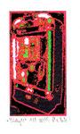 """""""Lucky 12"""" / Werkverzeichnis 2.255 / datiert 08.99 / Fotoveränderung von Spielautomaten als Tintenstrahldruck auf Papier / b 10,5 cm * h 15,0 cm"""
