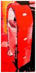 """""""Kokade X"""" / Werkverzeichnis 2.228 / datiert 24.07.99 / Fotoveränderung von Öfen als Tintenstrahldruck auf Papier / Maße b 42,0 cm * h 59,4 cm"""