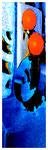 """""""Kokade IX"""" / Werkverzeichnis 2.227 / datiert 24.07.99 / Fotoveränderung von Öfen als Tintenstrahldruck auf Papier / Maße b 42,0 cm * h 59,4 cm"""