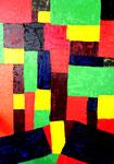 """""""Tür auf"""", Gestringen 01.1989, Acrylfarbe auf Leinen auf Pappe, b 50,00 cm * h 70,0 cm, Nachträge Werkverzeichnis"""