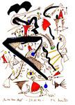 """""""In the year 1968"""" 27.12.1995 Werkverzeichnis 884 Diverse Farben auf Papier b 18,0 cm * h 24,0 cm"""
