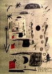 """""""Schwarz-rot-goldene Bio-Tonnen mit grünen Gesichtern"""" Espelkamp, den 16.12.1993, Werkverzeichnis 383 Technik siehe Anfang, b 29,7 cm * 42,0 cm"""