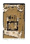 """""""Lucky 1"""" / Werkverzeichnis 2.244 / datiert 08.99 / Fotoveränderung von Spielautomaten als Tintenstrahldruck auf Papier / b 10,5 cm * h 15,0 cm"""