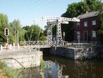 Belle-Ile :pont-levant sur le canal de l'Ourthe