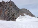 Abstieg über die Dachsteinschulter (Klettersteig)