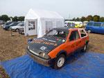 Fahrerlager mit nur einem Fahrzeug - Citroen AX Sport