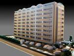 1/150マンション模型 約50万円
