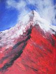 Roter Berg - 60x80 cm