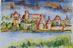 Marienburg - Aquarell 30x40