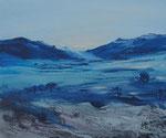Blaue Berge - 50x60 cm