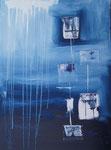 Blau-Weiß Nr.2 - 60x80 cm
