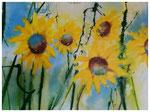 """Sonnenblumen"" 60 x 80 cm"