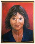 """Selbstportrait""  50 x 40 cm"