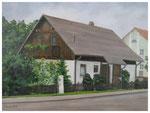 """""""Geralds Haus""""  40 x 50 cm  (verschenkt)"""