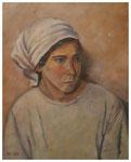 """""""Bauernmädchen""""  nach Werner Weber  50 x 40 cm"""
