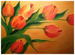 """""""Tulpen""""  50 x 70 cm (verschenkt)"""