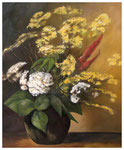 """""""Feldblumen"""" nach Werner Weber  60 x 50 cm"""