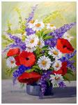 """""""Wiesenblumen""""  40 x 30 cm"""