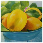 """""""Zitronen"""" 40 x 40 cm"""