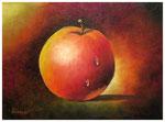 """"""" Apfel""""  18 x 24 cm"""