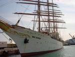 Die Seacloud im Hafen von Nice