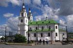 La plus grande église orthodoxe de Minsk.
