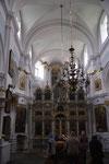 Intérieur de l'église.