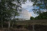Le miroir du grand radiotélescope