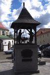 Monument rappelant que c'était la place du marché.