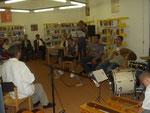 musikalischen Umrahmung einer Dichterlesung mit Manfred Mai