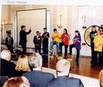 Auftritt im Schloß Bellevue bei Bundespräsident Herzog 1999