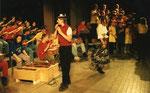 Konzert mit der Partnerschule in Borna/Sachsen 1998