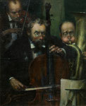 Trio (Öl auf Leinwand 35x25 2003)