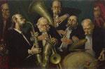 Die Geburt des Jazz (Öl auf Leinwand 70x100 1999)
