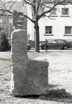 Trône en granit © Chris Bazireau