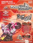 Admission Ticket, Irish Motorbike Show 03.2011 Dublin