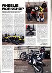 2007 - Mein erstes Mal: Wheelie Workshop