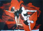 Tänzerinnen  75cm x 110cm   verkauft