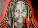 Himba  90cm x 110cm   Preis a.A.