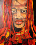 Himba 80cm x 110cm   verkauft