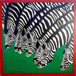 Zebra  100cm x 100cm   Preis a.A.
