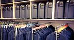 Garderobe für den Chor