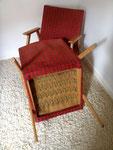 paire de fauteuils style scandinave vintage
