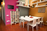 The dining room area / La zona del comedor